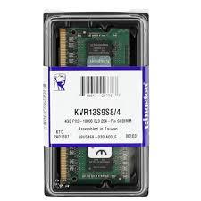 MEMORIA SODIMM DDR4 4GB 2400MHZ 1.2V PROP. LENOVO (KCP424SS6/4)