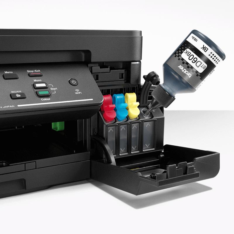 IMPRESORA MULTIFUNCION COLOR T/ TINTA LCD DCPT710W (DCP-T710W)
