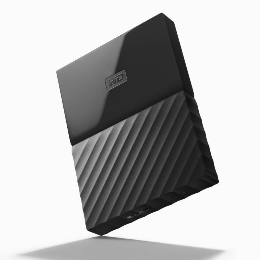 DISCO EXTERNO PORTABLE 1TB WD MYPASSPORT BLACK 3.0