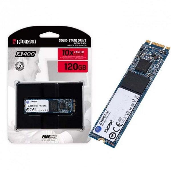 DISCO SOLIDO SSD 120GB M.2 A400 2280 (SA400M8/120G)