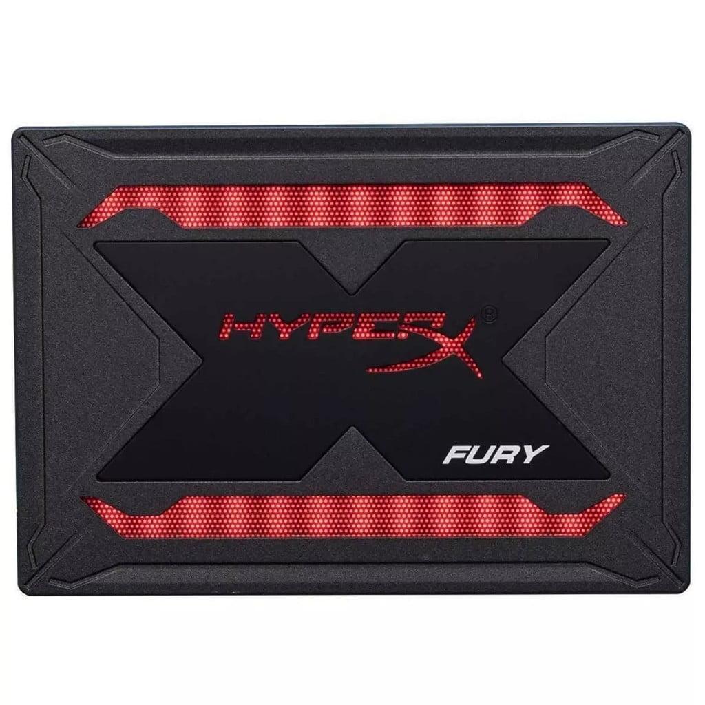 """DISCO SOLIDO SSD 240GB SATA3  2.5"""" HYPERX FURY RGB (SHFR200/240G)"""