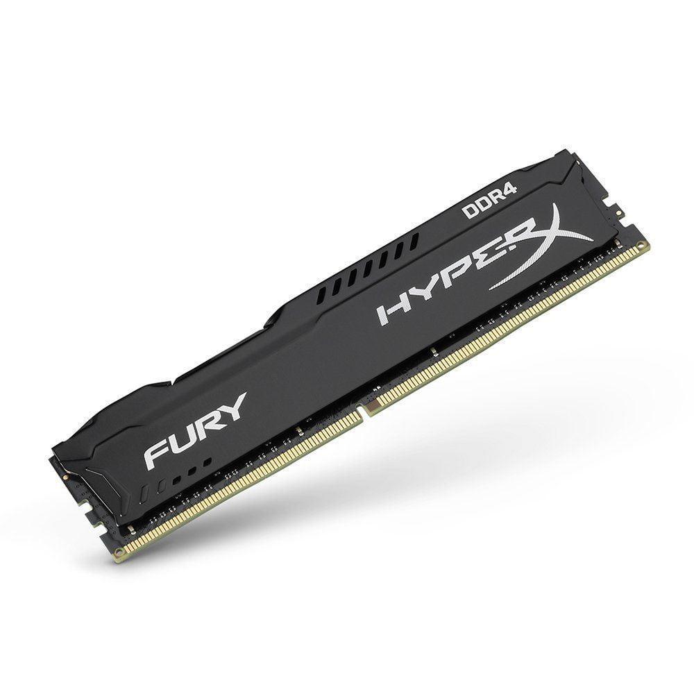 MEMORIA PC HYPERX DDR4 16GB 2400 C15 FURY BLACK (HX424C15FB/16)