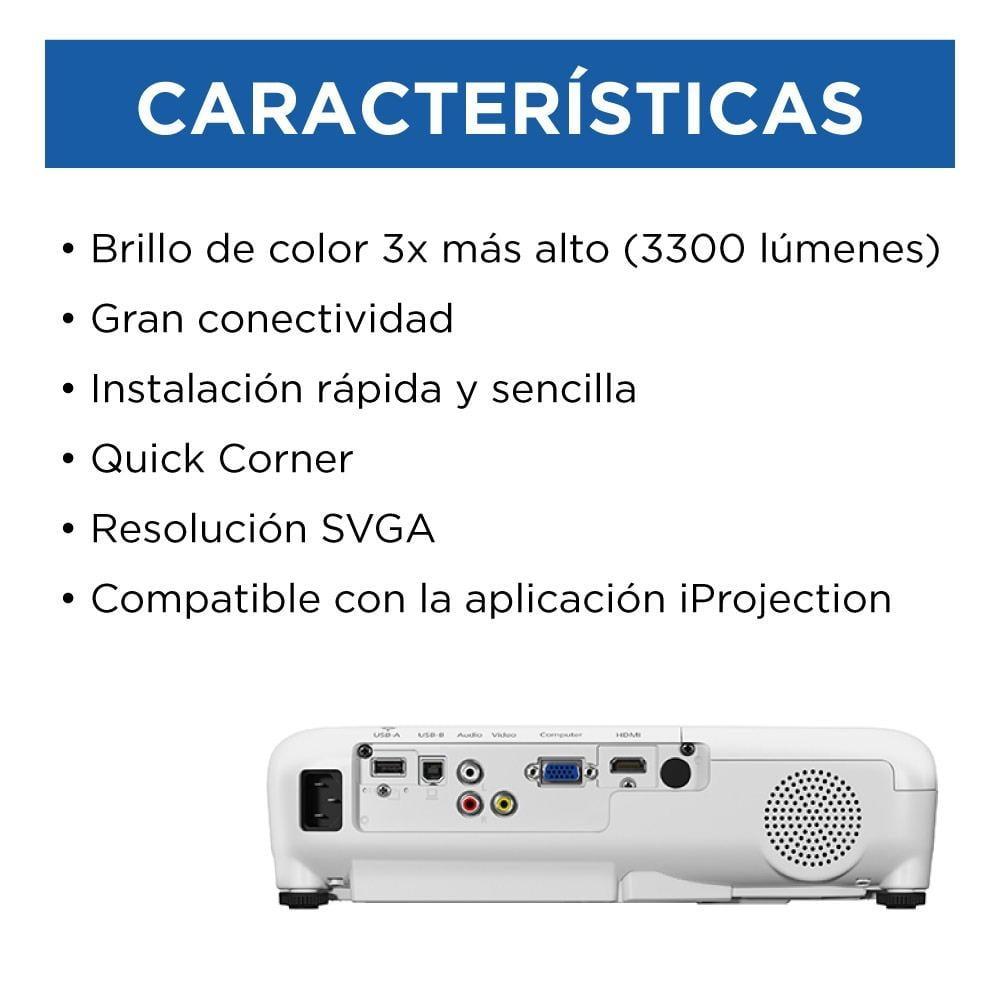 PROYECTOR POWERLITE EPSON S41+ SVGA