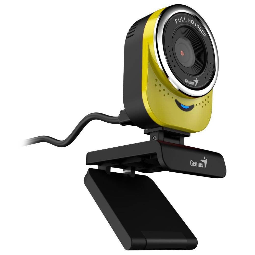 WEBCAM QCAM 6000 1080P FULL HD AMARILLA (32200002403)