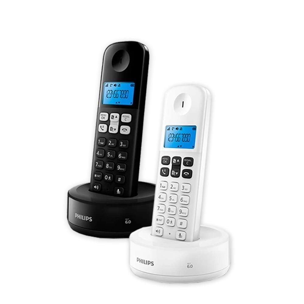 TELEFONO INALAMBRICO PHILIPS D1311B/77 NEGRO