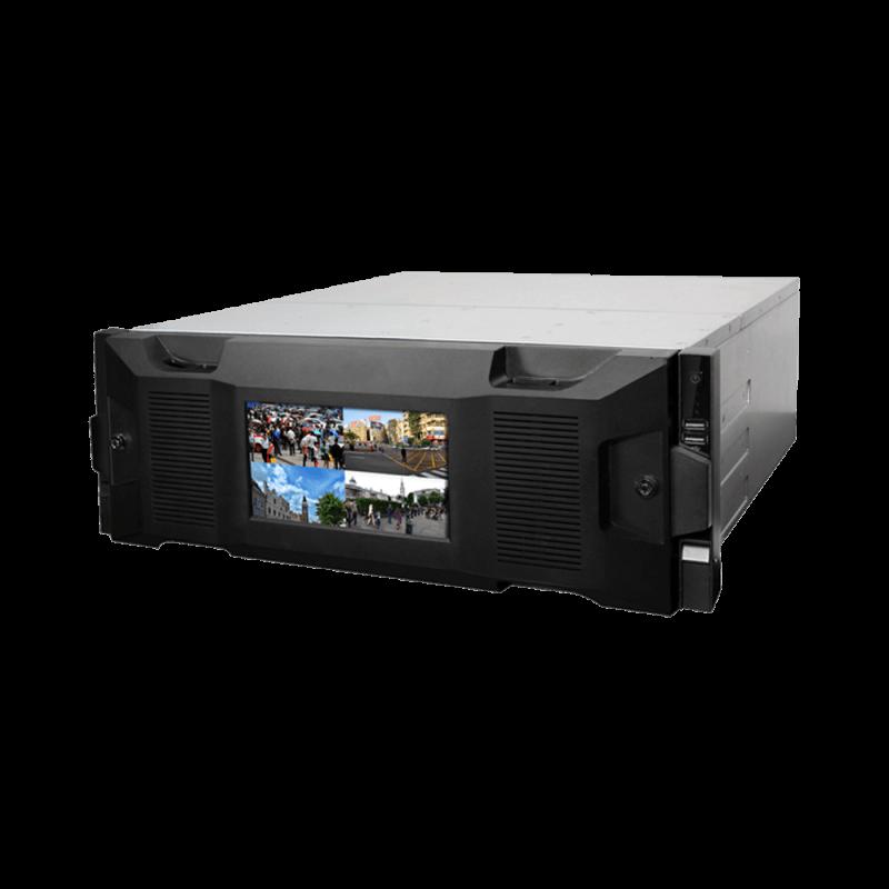 SUPER NVR 128CH SMART CON FUENTE REDUNDANTE, FUNCIONES DE STORAGE Y VIDEO WALL  (NVR716-128-IVS)