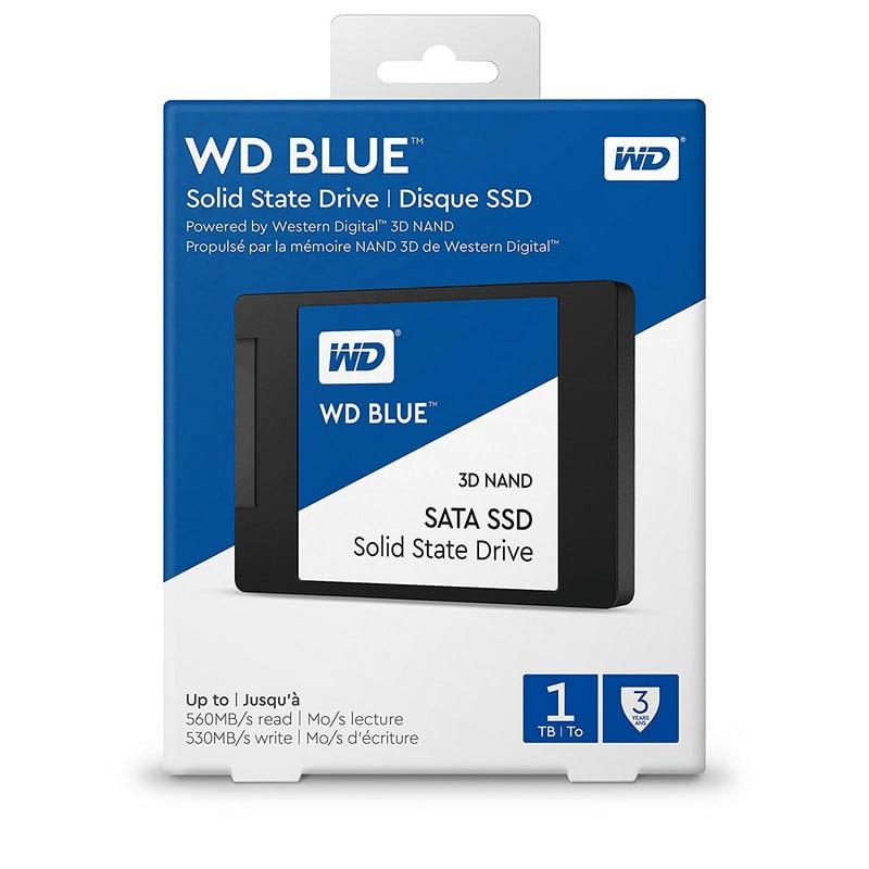 DISCO SOLIDO SSD 1TB 2.5 WD BLUE 6GB/S (WDS100T2B0A)