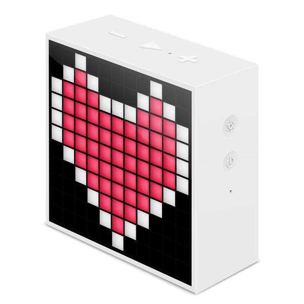 PARLANTE DIVOOM TIMEBOX-MINI- BATERIA 2500mA BLUETOOTH 4.0 COLOR BLANCO