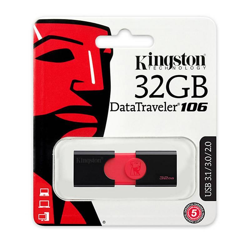 PENDRIVE 32GB DT106 KINGSTON (DT106/32GB)