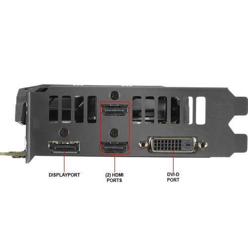PLACA DE VIDEO 6GB GTX 1660 TI ASUS DUAL OC HDMI x 2