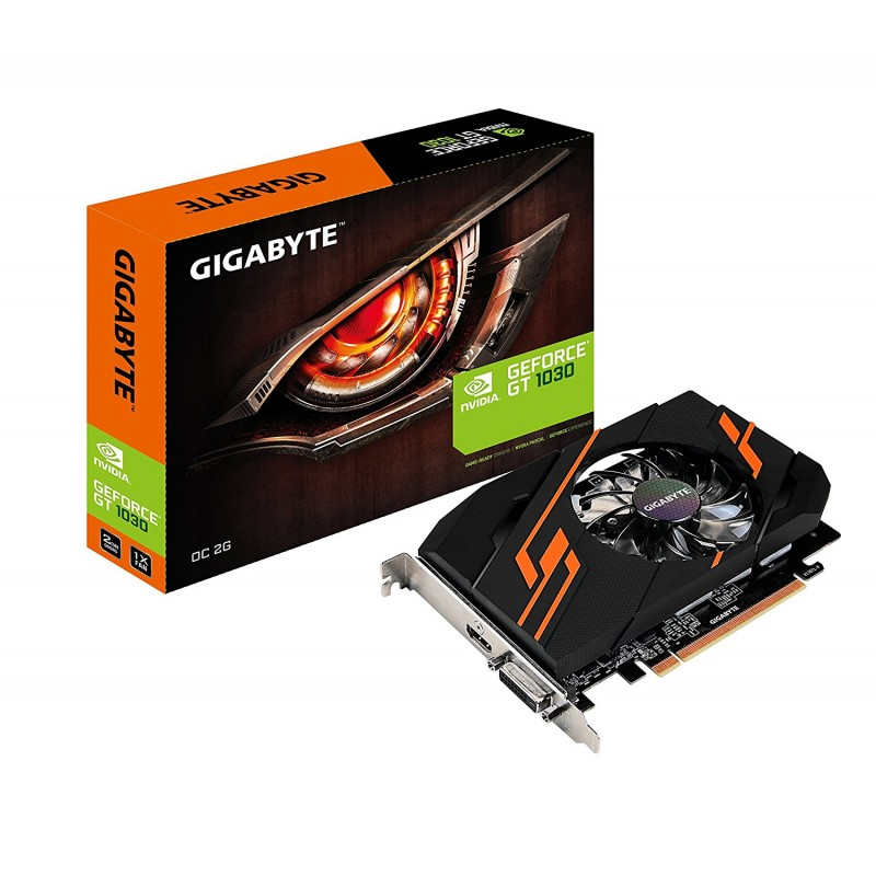 PLACA DE VIDEO 2GB GT 1030 GIGABYTE DDR5 OC 2GI