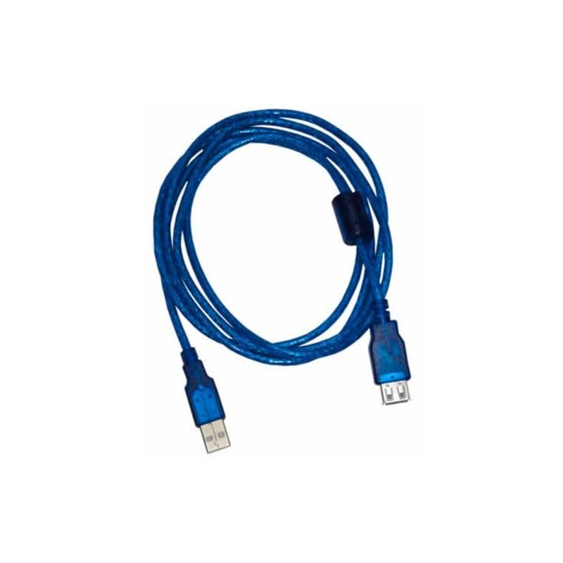 CABLE USB 2.0 ALARGUE M A H  1,8MTS HQ BULK NS-CALUS2R NISUTA(NS-CALUS2R)