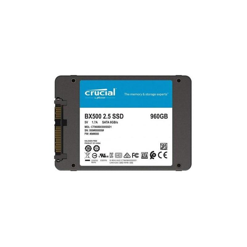 DISCO SOLIDO SSD 960GB CRUCIAL BX500(CT960BX500SSD1)
