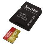 MICRO SD MICRO SANDISK 32GB EXTREME U3 A1 V30 (SDSQXAF-032G-GN6AA) CON ADAPTADOR