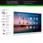 "TABLET GADNIC CELULAR 10.1"" QUADCORE 32GB"