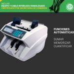CONTADORA DE BILLETES PROFESIONAL GADNIC (UV / MG / DD / IR)