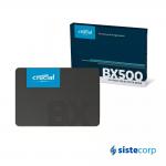 DISCO SOLIDO SSD 120GB CRUCIAL BX500 SATA 2.5