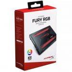 """DISCO SOLIDO SSD 240GB HYPERX FURY RGB 2.5"""" (SHFR200/240G)"""