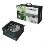 FUENTE PC 650W GAMEMAX 80 PLUS GP-650 FAN 14CM