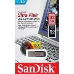 PEN DRIVE ULTRA FLAIR 3.0 32GB (SDCZ73032GG46)