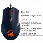 MOUSE GENIUS GAMER USB AMMOX X1-400 (31040033104)