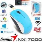 MOUSE GENIUS NX-7000 INALAMBRICO AZUL (31030109119)