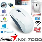 MOUSE GENIUS NX-7000 WHITE INALAMBRICO