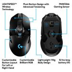 MOUSE LOGITECH GAMING G903 LIGTHSPEED INALAMBRICO (910-005086)