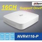 NVR 16CH 5MPX 1HDD 4X POE MARCA DAHUA (NVR4116-P)