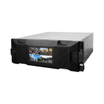 SUPER NVR 128CH SMART CON FUENTE REDUNDANTE, FUNCIONES DE STORAGE Y VIDEO WALL  (NVR716-128-IVS)