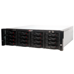 SUPER NVR 128CH 12MPX 16HDD H.265 RAID ISCSI SAS HOT-SWAP (NVR616-128-4K)