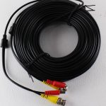 CABLE 18 MTS CCTV VIDEO + ALIMENT BNC