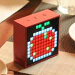 PARLANTE DIVOOM TIMEBOX-MINI- BATERIA 2500mA BLUETOOTH 4.0 COLOR ROJO