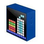PARLANTE DIVOOM TIMEBOX-MINI- BATERIA 2500mA BLUETOOTH 4.0 COLOR AZUL