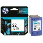 CARTUCHO ORIGINAL HP 22 TRICOLOR (C9352AL)