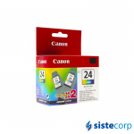 CARTUCHO CANON BCI-24 COLOR TWIN PACK (IP-1000/1500)