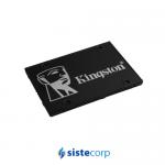 DISCO SOLIDO SSD 512GB KINGSTON KC600 SATAIII 2.5 (SKC600/512G)