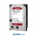 DISCO DURO 4TB WD RED 3.5 NAS SATA 5400 64MB (WD40EFAX)