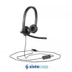 AURICULAR / HEADSET MONO LOGITECH H570 USB (P/N 981-000570)