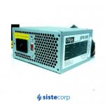 FUENTE PARA PC 500W  2 SATA 2 MOLEX   CON CABLE DE ALIMENTACION – SFX-500 – SFX
