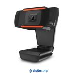 WEBCAM WC 720P  USB + MICROFONO BLACK (WC720P) GENERICA